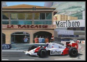 Painting-1985-Monaco-Grand-Prix-by-Toon-Nagtegaal