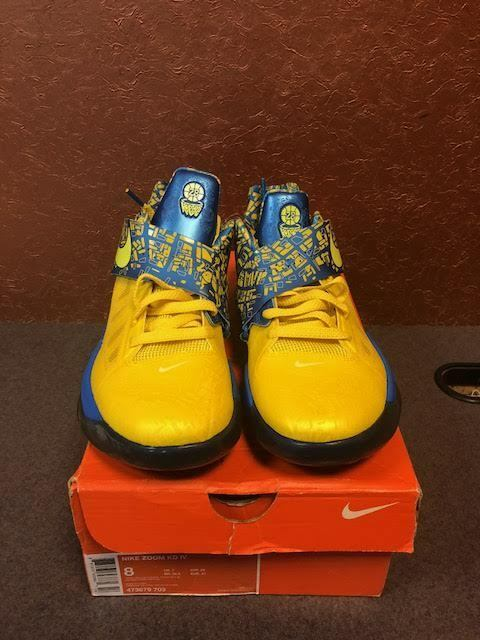 2012 Nike Zoom KD IV 4 Scoring Title KEVIN DURANT 473679 703 Price reduction Special limited time