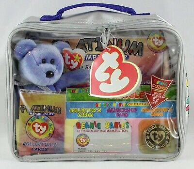 BBOC Platinum Membership Pack Version 2 TY Beanie Babies Collectors Cards