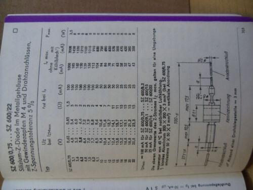 5 x 13v Leistungs Zehnerdiode  8watt 5/%