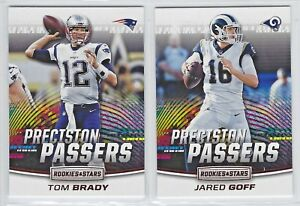 2018 Panini Rookies & Stars PRECISION PASSERS Inserts COMPLETE YOUR SET You Pick