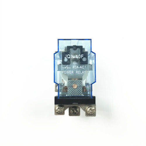 JQX-40F 1Z 40A SPDT General Purpose Power Electromagnetic Relay 12 24 110 220V