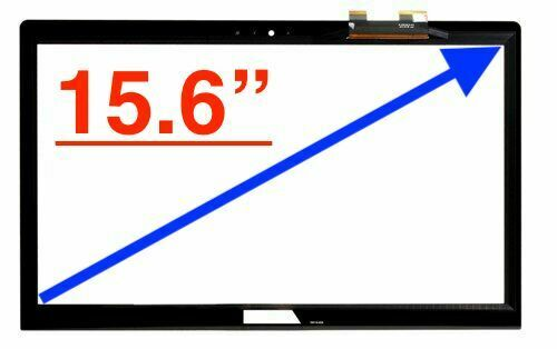 15.6/'/' LED LCD Touch Screen Digitizer Glass only For Asus Q504 Q504UA-BBI5T25