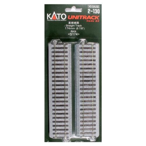 "Kato 2130 174mm 6-7//8/"" Straight HO Scale 4"