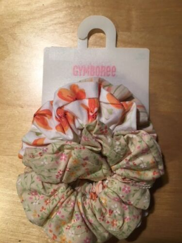 Gymboree hair pony elastic scrunchies CHOICE use dropdown menu many lines NWT