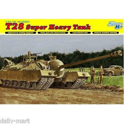Dragon 1/35 6750 T-28 Super Heavy Tank Model Kit