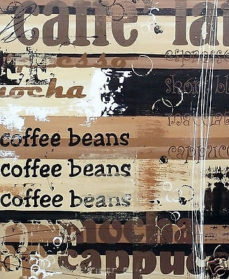 COFFEE by Andy Baker  painting PRINT  ORIGINAL ART Abstract Australia