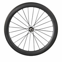 700C 50+60mm Depth Tubular Ultra Light Wheels Carbon Fiber Road Bike Wheelset
