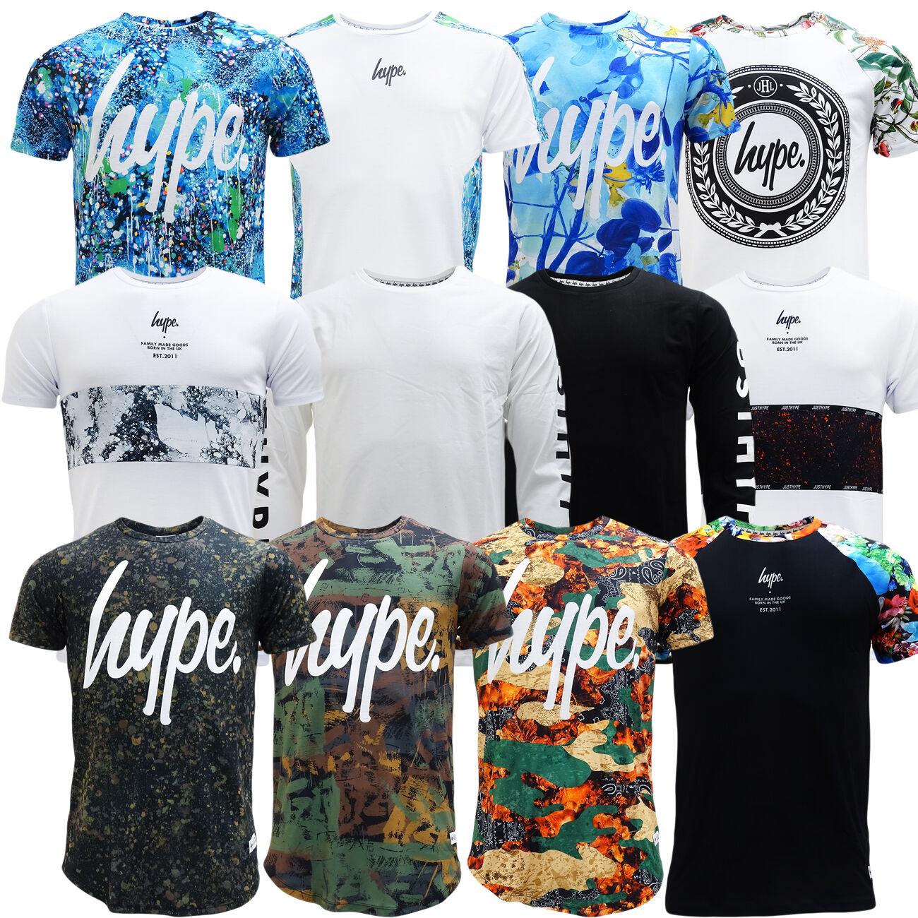 HYPE T SHIRT SHIRT SHIRT - Boys   Mens Just Hype T-Shirts - NEW XXS XS S M L XL XXL   Zuverlässige Leistung    Zarte  5208df