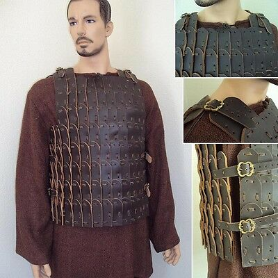 Leather Medieval Scale Armour - Perfect Re-Enactment / LARP Gear
