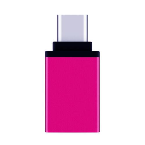 Adapter Type C to USB-A 3.0 Female Converter OTG USB C 3.1 For Mac Nexus 5X 6P Z