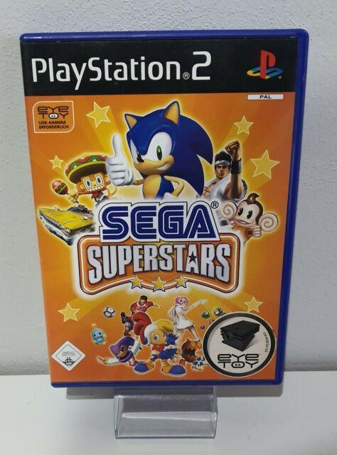 Sega Superstars - Sony PLAYSTATION 2-PS2 Embalaje Original + Instrucciones A7078