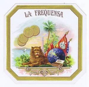 La Frequensa, Original Externe Cigare Boîte Label, Lion Wmchtpyw-08000800-473845600