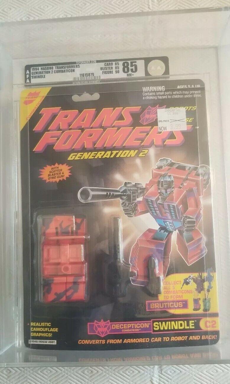 Transformers GENERACIÓN 2 (1994) Figura De Acción Hasbro autoridad 85 85 85 90