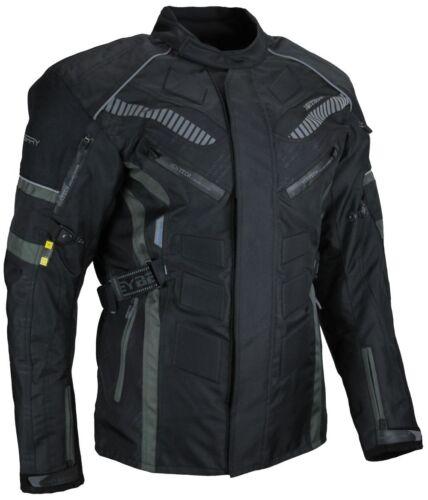 3XL Herren Touren Motorradjacke Textil Heyberry grau Gr