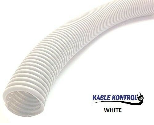 Size /& Color Option Kable Kontrol Colored Polyethylene Split Wire Loom Tubing