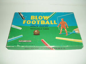 Vintage Blow Football by Spears Games. | eBay