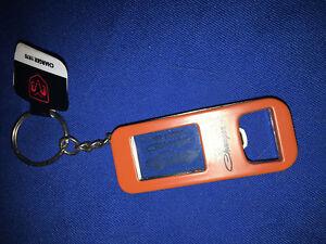 1969 Dodge Charger KEY CHAIN bottle opener ORANGE COLLECTIBLE NEW