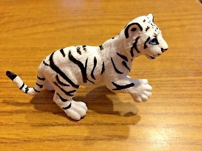 2019 Latest Design White Tiger Cub Animal Figure 1996 Safari Ltd New Toy Educational Skilful Manufacture