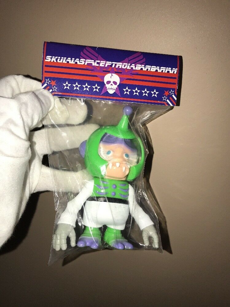 Secret Base Skull Space Patrol Barbarian Vinyl Jp Fight Figure Killers