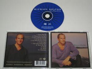 MICHAEL-BOLTON-SOLO-A-DONNA-COME-TE-JIVE-9223422-CD-ALBUM