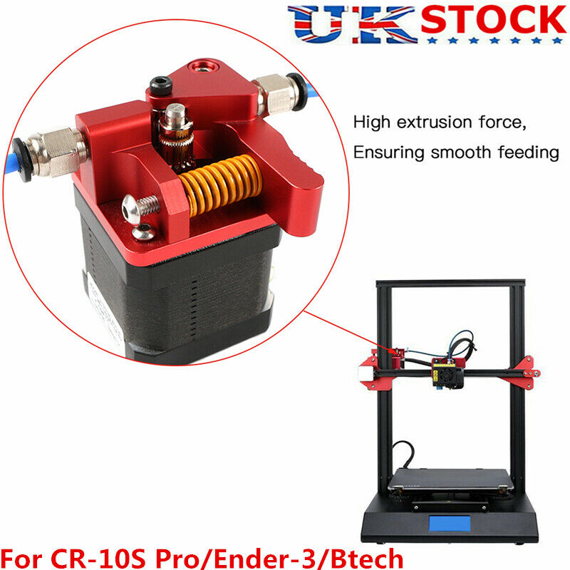 Extruder Remote Dual Drive Gear For Creality 3D Printer CR-10S Pro Ender3 Kits