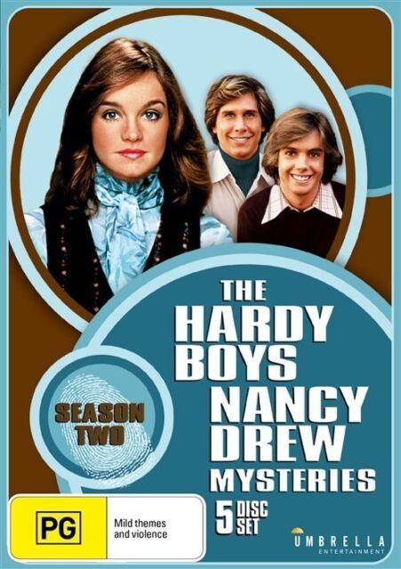 Hardy Boys / Nancy Drew Mysteries : Season 2 (DVD, 2016, 5-Disc Set) REGION 1