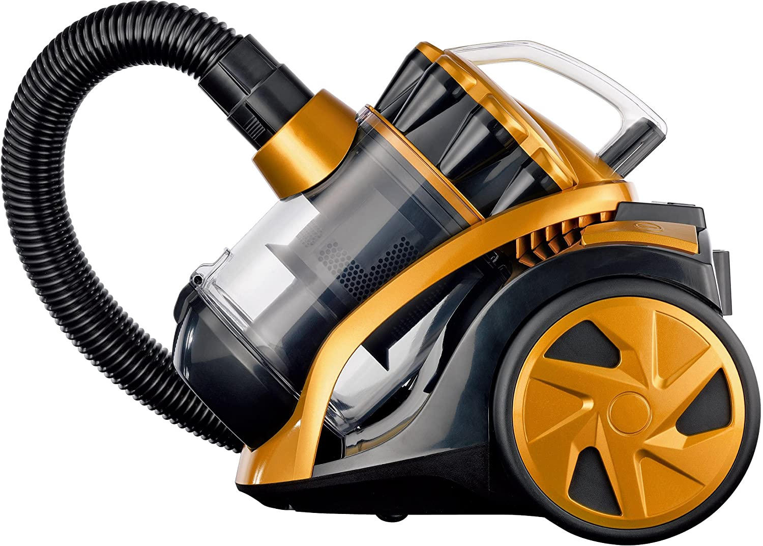 Yellow Compact 1400w Cylinder Vacuum