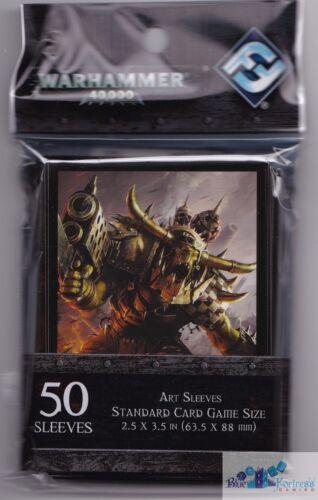 ORKS CARD SLEEVES DECK PROTECTORS WARHAMMER 40,000 MTG