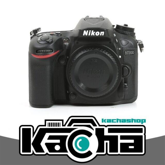 NEW Nikon D7200 Digital SLR Camera Body Only 24.2 MP Kit Box