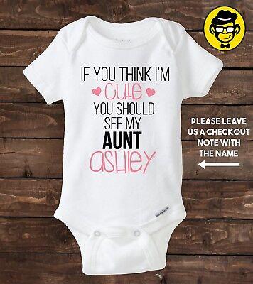 Grandad Bodysuit Baby Vest If You Think I/'m Cute..