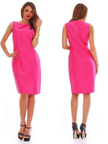DANIEL HECHTER PARIS-Traumhaftes Etui-Kleid-m.Seide-zeitlos elegant-pink-Gr.36
