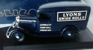 ELIGOR-1-43-AUTO-DIE-CAST-FORD-V8-CAMIONNETTE-1934-LYONS-BLU-ART-1074