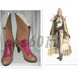 Final-Fantasy-4-Rosa-Farrell-Female-Cosplay-Shoes-Boots-S008