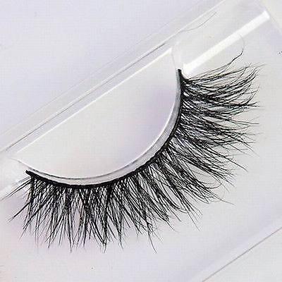 100% Real Mink Handmade Luxurious Natural Thick Soft Eye Lashes False Eyelashes