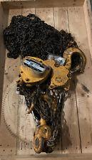 Harrington 10 Ton 20ft Manual Chain Hoist