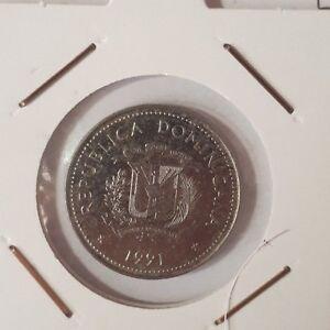 Dominican-Republic-25-Centavos-1991-XF