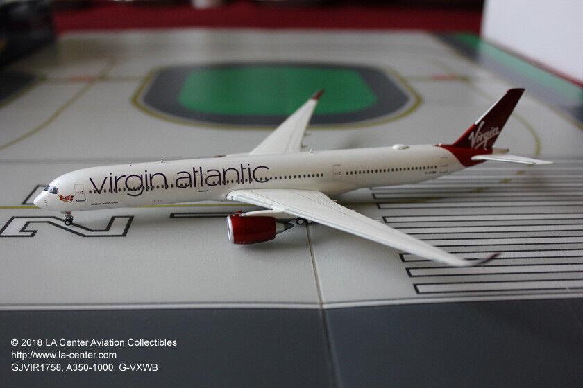 Gemini Jets Virgin Atlantic Airbus A350-1000 Current Farbe Diecast Model 1 400