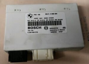BMW 1 3 X1 SERIES E81 E84 E87 E90 E91 PDC MODULE PARKING CONTROL MODULE BOSCH...
