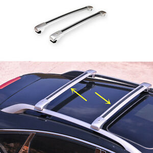2pcs silvery roof rack aluminum alloy main body for benz for Mercedes benz gl450 ski rack