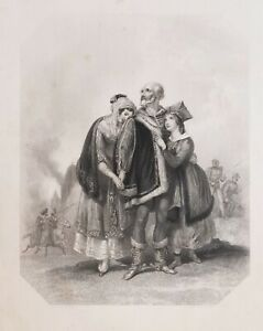 1837-PRINT-POLAND-FINDENS-TABLEAUX-NATIONAL-CHARACTER-amp-COSTUME