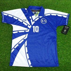 69966408ce5 El Salvador, Men's Retro Soccer Jersey.1997