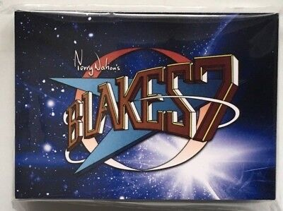 Blakes 7 Series 1 Full 54 Card Base Set of Trading Cards from Unstoppable Cards