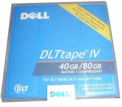 Dell DLT IV 40/80GB Tape