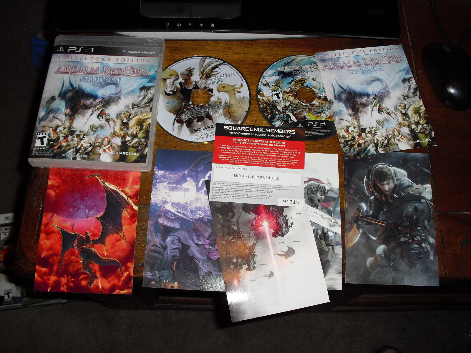 Final Fantasy XIV Online: A Realm Reborn -- Collector's Edition (Sony  PlayStation 4, 2014)