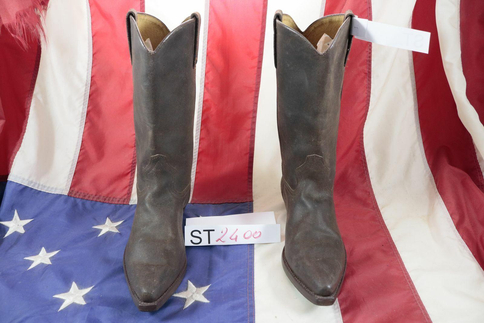 Stiefel Lee (Cod.ST2400) Gebraucht N.41 Herren Cowboy Stiefel braun