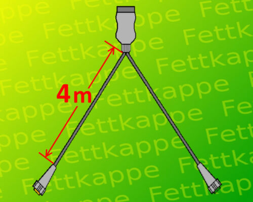 Aspöck Midipoint 1 Anhänger Rückleuchten mit 7pol 4,0 m Kabelsatz Rücklichter