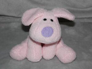 TESCO-PINK-DOG-SOFT-TOY-COMFORTER-DOUDOU