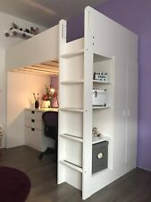 Kinderbett Hochbett Ikea Stuva In Weiß Günstig Kaufen Ebay