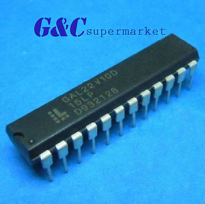 10PCS IC GAL22V10D-15LP GAL22V10D DIP-24 LATTICE NEW GOOD QUALITY